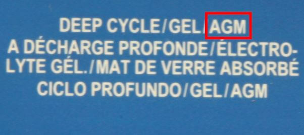 """What does """"AGM"""" mean on a battery charger?"""
