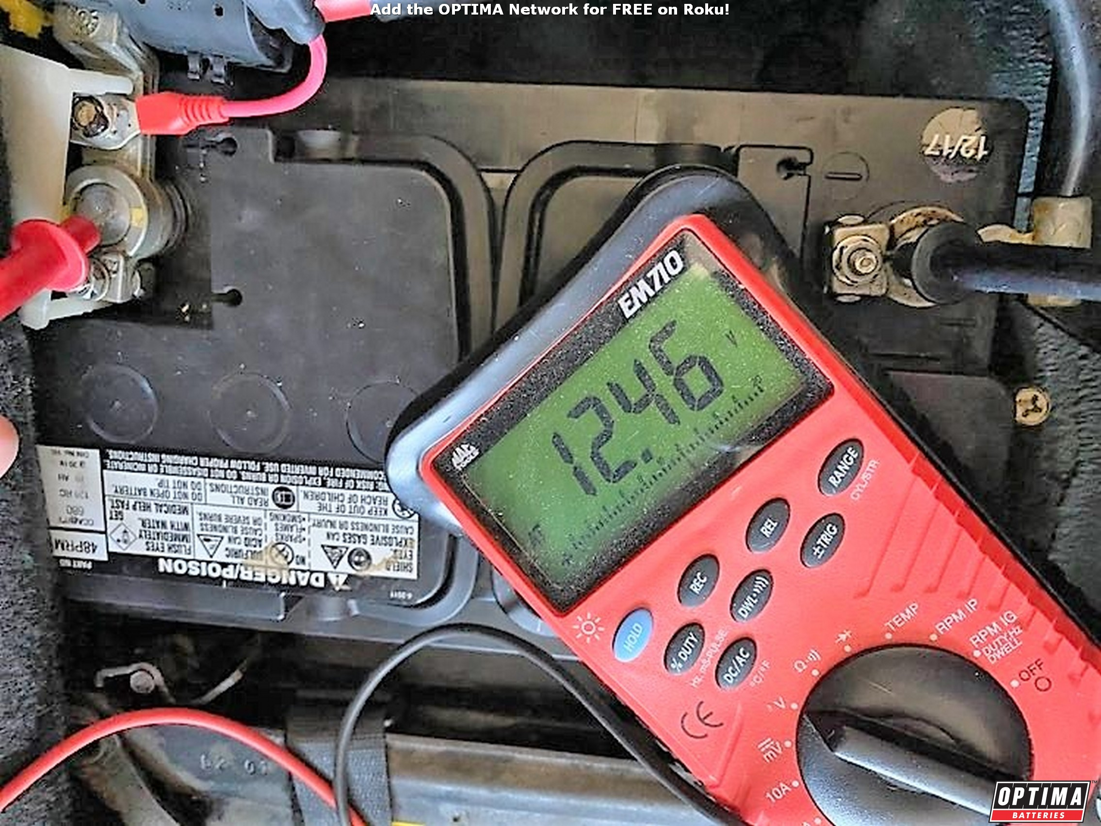 Can a 12 volt battery lose voltage after not starting a car for a week