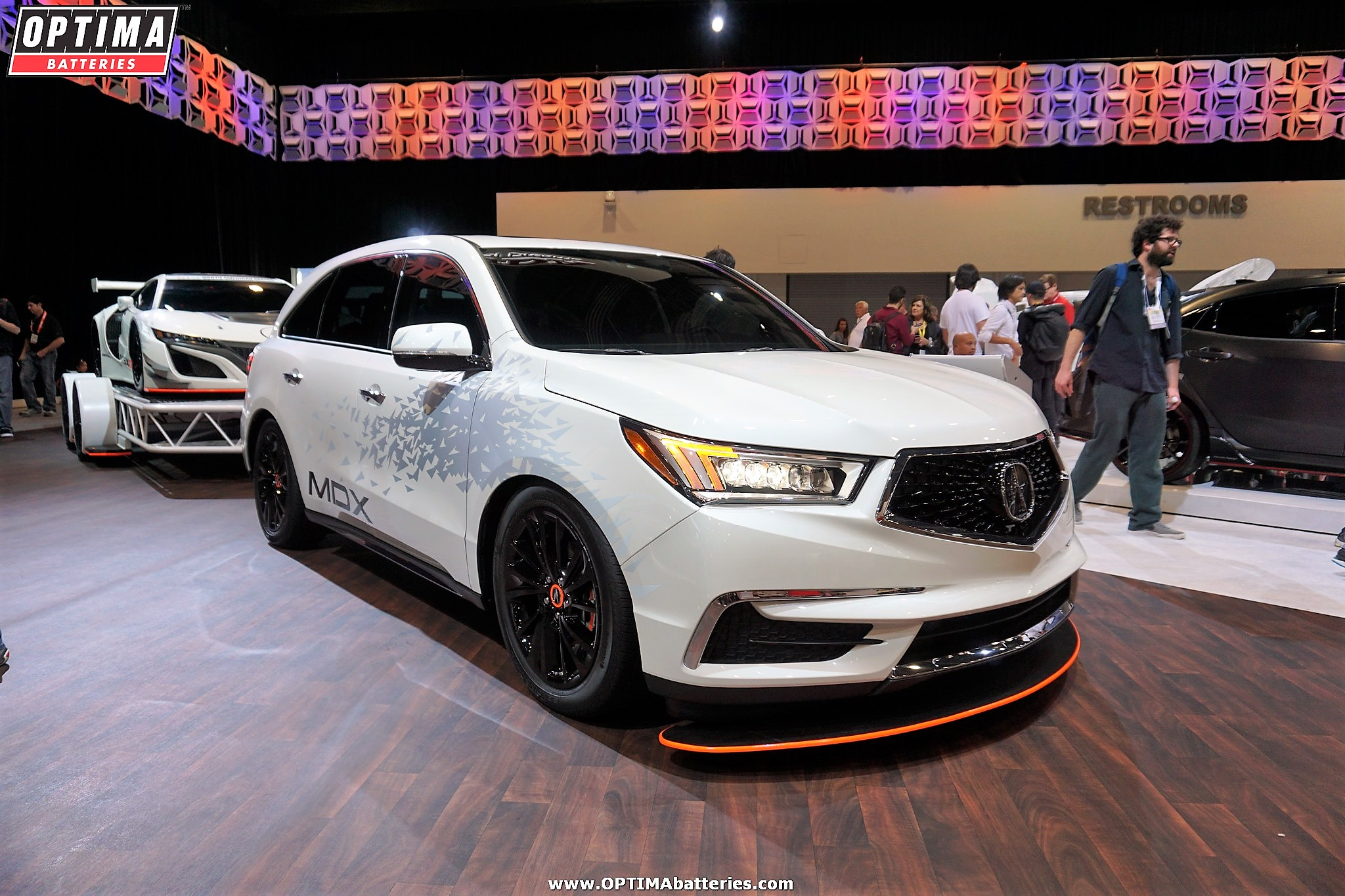 How long does an Acura MDX battery last?