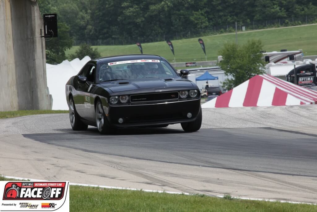 Jim Schmittinger's Dodge Challenger at Road America