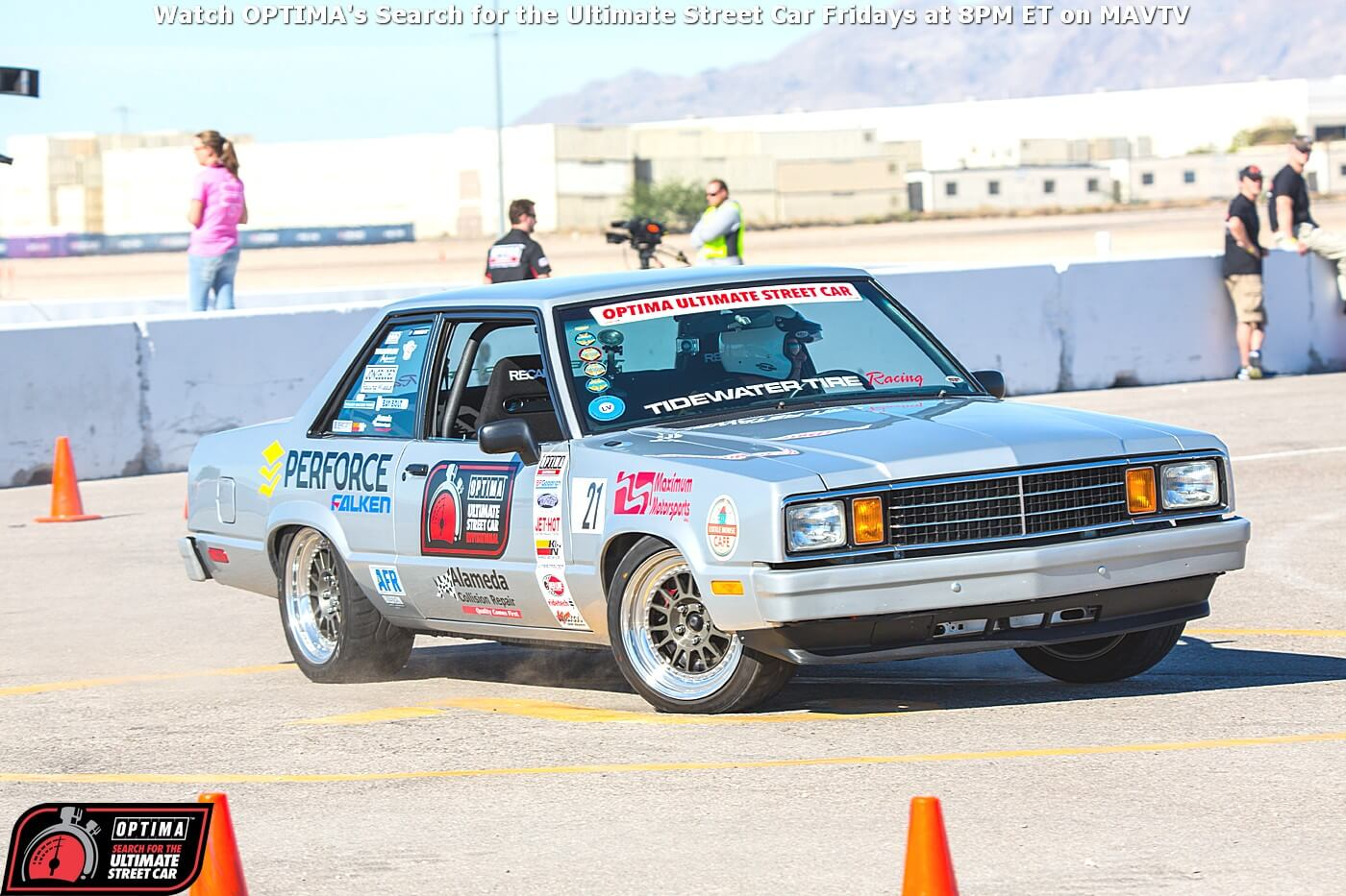 Martin-Pond-Ford-Fairmont-RideTech-Autocross-2014-OPTIMA-Ultimate-Street-Car-Invitational_46