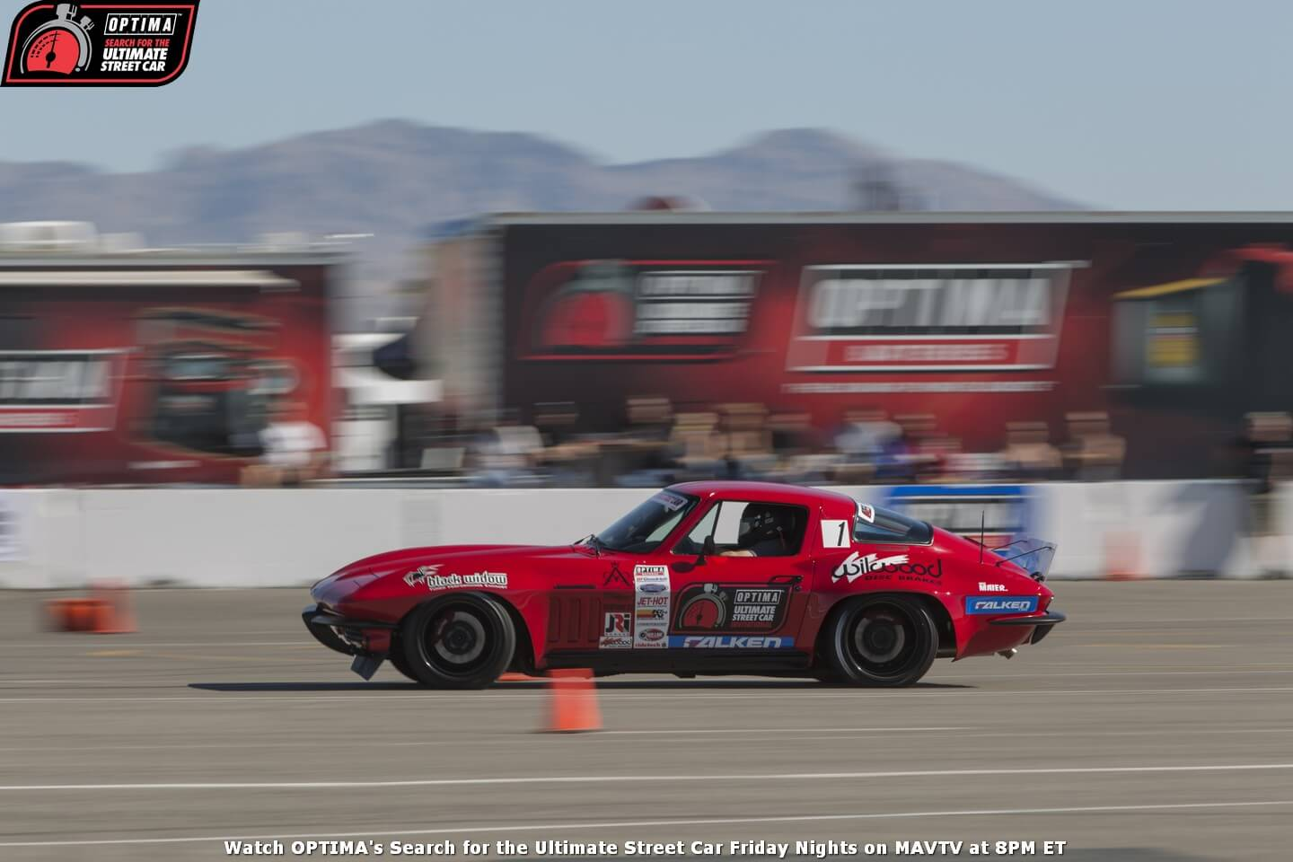 p-Brian-Hobaugh-1965-Chevrolet-Corvette-RideTech-Autocross-2014-OPTIMA-Ultimate-Street-Car-Invitational_25