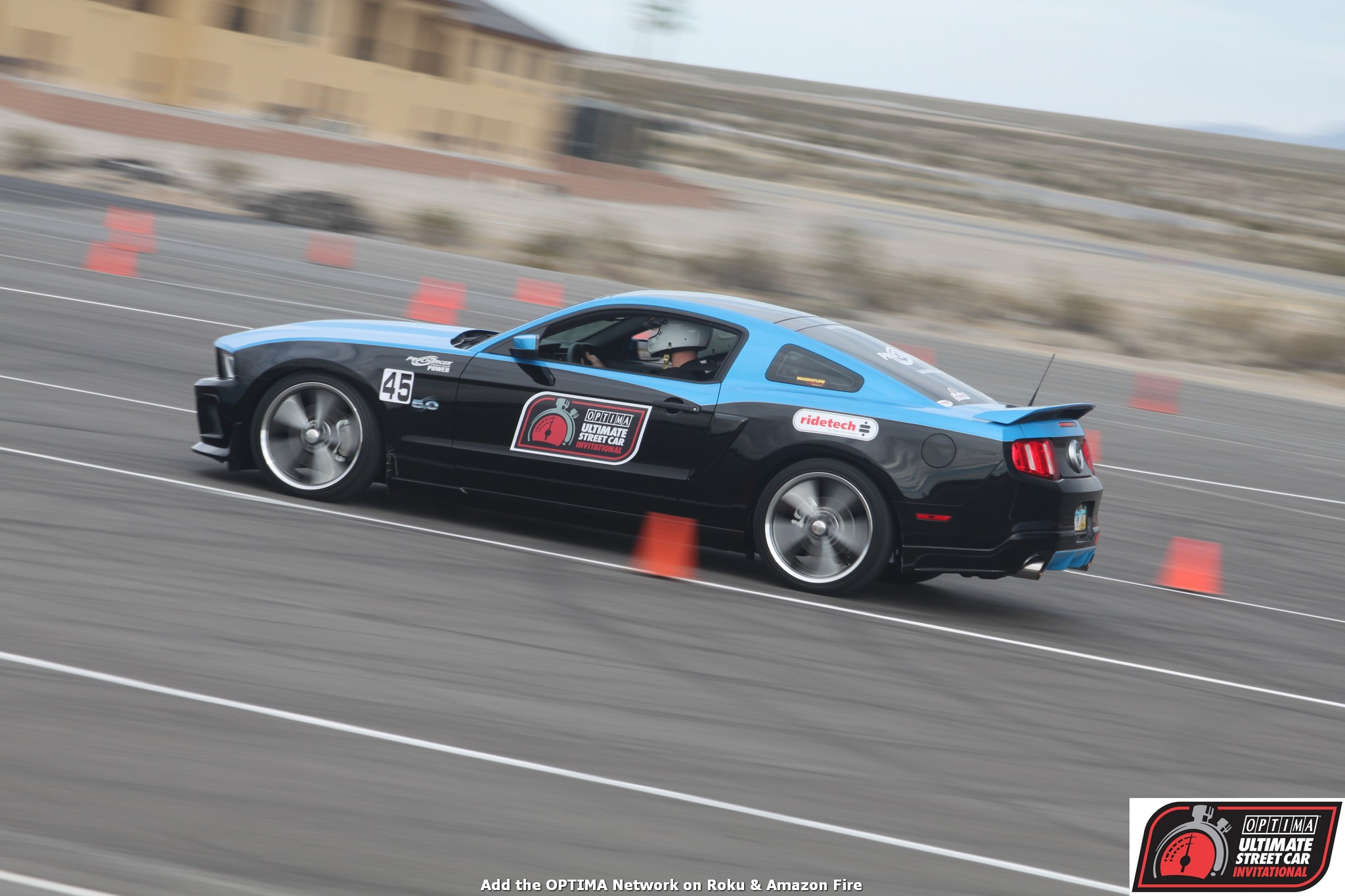 Tim Schoch 2011 Ford Mustang OUSCI 2010