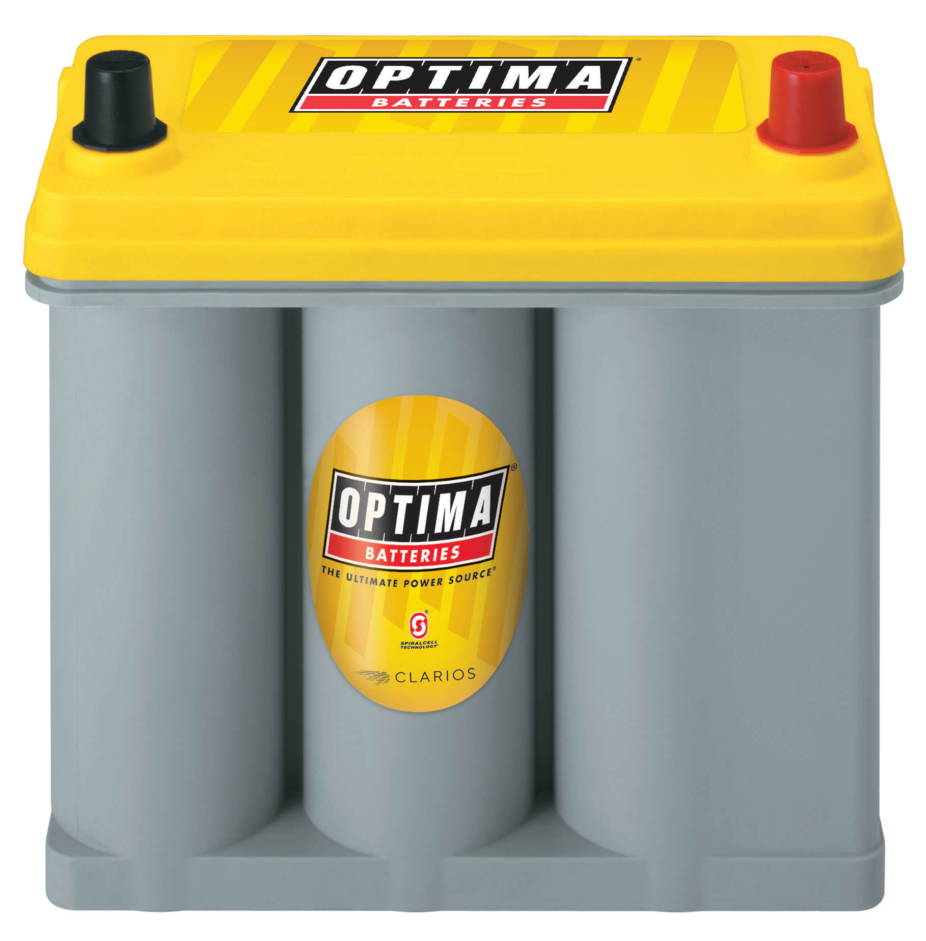 OPTIMA YELLOWTOP D51R Frontal-Top Orientation